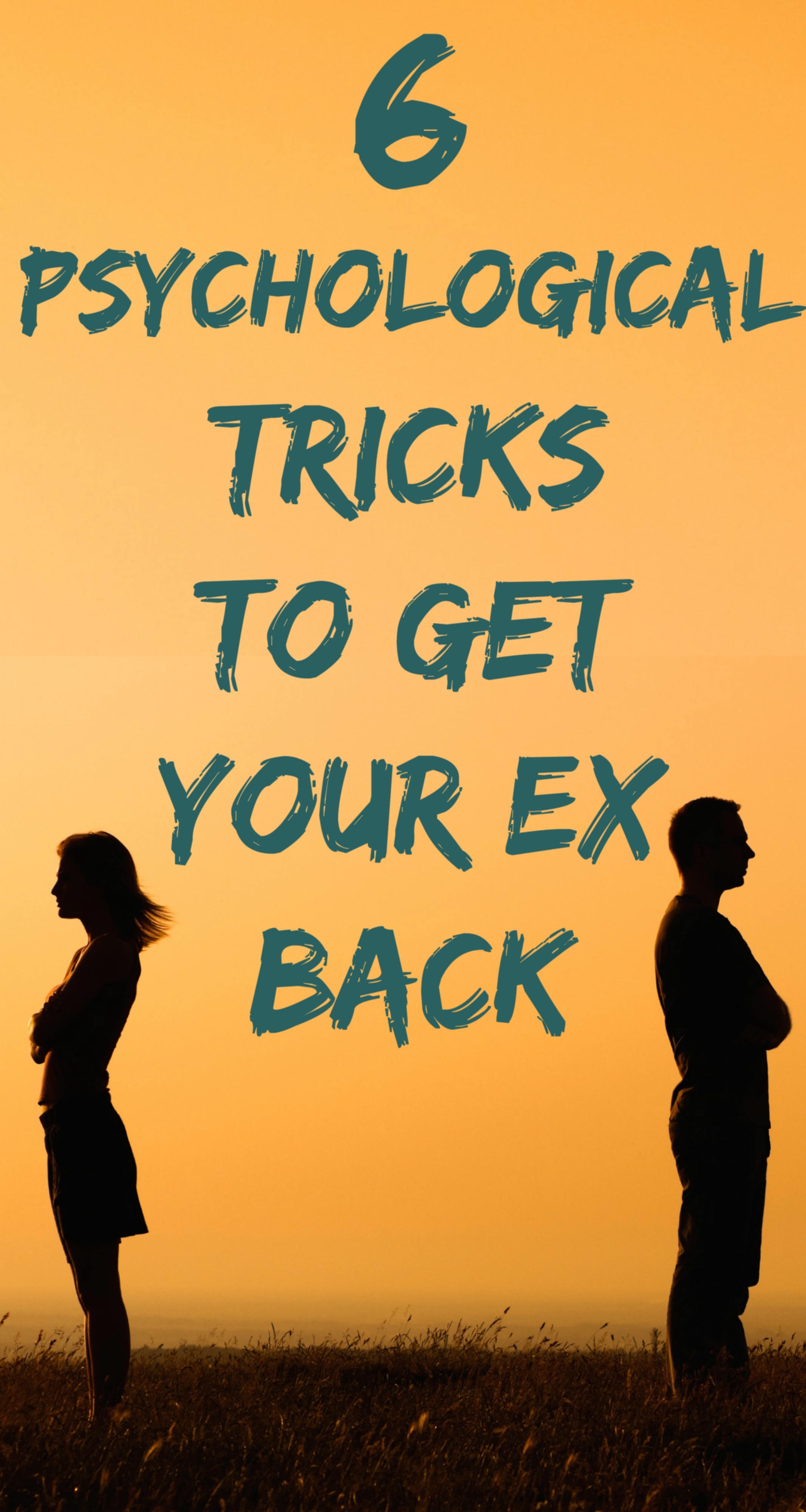 Getting your ex back can be a long, tricky and complicated process. One wrong move and you're back to square zero. But if you have faith in what you two had, why not use a little bit of reverse ...