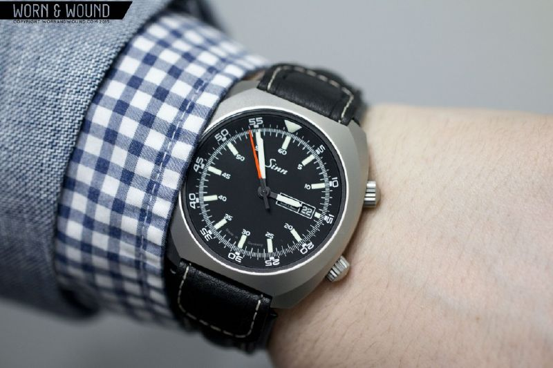 Last year at Basel, Sinn built on their collection byintroducing watchesboasting a lot of proprietary tech. Though admittedly cool, watches like the EZM 9 TESTAF and the EZM 13 were also very ...